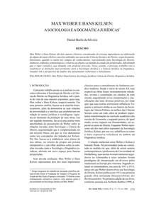 sociologia  weber e kelven