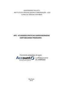 APS de Contabilidade Financeira Account