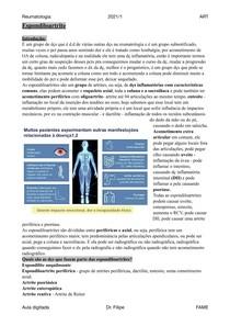 Espondiloartrites