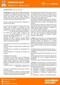 Módulo 6 - aula 11 12 - Verminoses (Platelmintos)