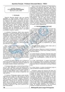 23035A Literatura Portuguesa. MOISES  Massaud