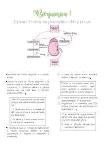 Bioquímica I - Sistema renina-angiotensina-aldosterona
