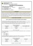 Relatorio de QUÍMICA GERAL PARA ENGENHARIA (Acidos e bases, Constantes de dissociação,Solução Tampão )