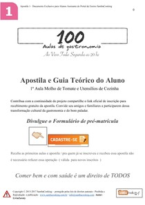 Apostila das 100 aulas Volume 1