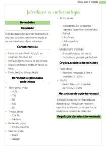 Introdução à endocrinologia