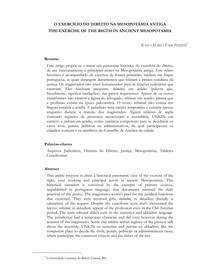 Historia Direito Artigo direito na Mesopotamia