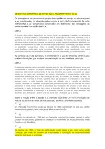 243 QUESTOES COMENTADAS DE SERVIÇO SOCIAL PELOS PROFESSORES DO QC