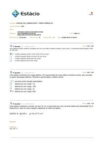Física Teórica 3 - Av2 2014