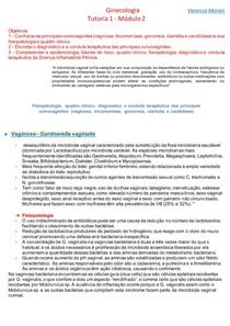 Vulvovaginites, clamídia e gonorreia - Ginecologia - tut 1