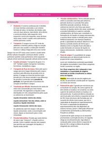 Sistema Cardiovascular - Fisiologia - Resumo