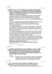 Estudo Disciplinar 5 UNIP Gestão Financeira
