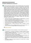 AVALIANDO O APREDIZADO ADMINISTRAÇÃO DE NOVOS NEGÓCIOS 2015.2 (AULAS 6-10)