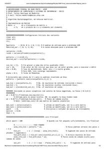 codigo multiplo perceptron
