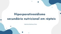 Hiperparatireoidismo secundário nutricional