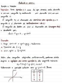 Notas de Aula (Cálculo 1 - Limites e Derivadas com exercícios resolvidos) - Profª Lorena Brizza - Unidades 1 e 2 - 2013.1