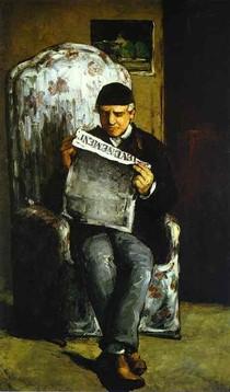 Paul Paul Cézanne - Portrait of the Artists Father