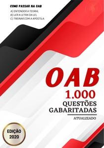 1000 questões OAB atualizado