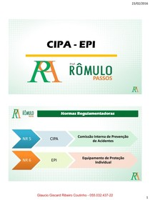 3865d0a3e0210 x100 CIPA e EPI (1) - Enfermagem - 2