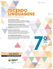 7 o ano TECENDO LINGUAGENS LÍNGUA PORTUGUESA MANUAL DO PROFESSOR