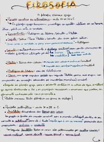 Filosofia - A filosofia clássica grega