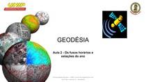Aula 2 geodésia Os fusos horários e estações do ano
