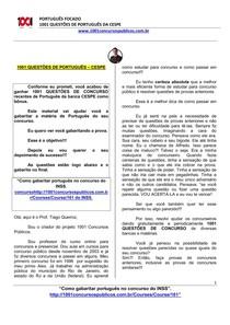1001 QUESTÕES DE CONCURSO - PORTUGUÊS_PARA_CONCURSOS_DO_CESPE