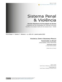 Sistema Penal & Violência - PUCRS