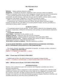 Pneumologia - DPOC TBL #Resumo