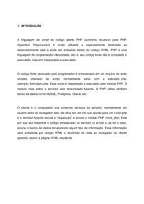TRABALHO - PHP