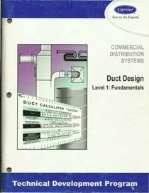 Carrier TDP 504 Duct Design Level 1 Fundamentals (Dutos