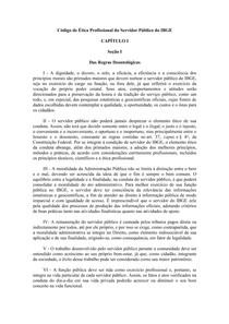 Codigo de etica IBGE