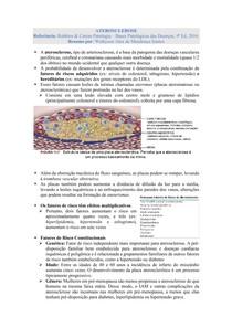 Aterosclerose - Patologia (Robbins & Cotran)