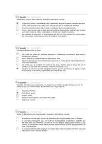 AV LEGISLAÇÃO FISCAL, TRABALHISTA E PREVIDENCIÁRIA