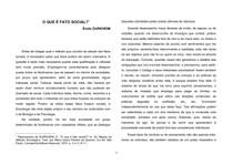 O Que é Fato Social (Émile Durkheim)[1]