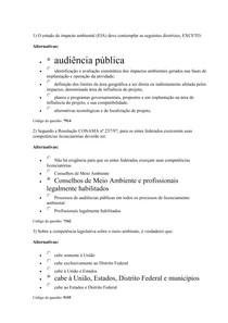 AV1 Licenciamento Ambiental