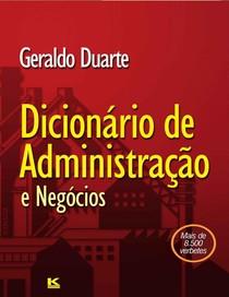 Geraldo Duarte   2011   Dicionário de Administração e Negócios