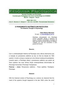Revista de Pesquisa Pscicológica
