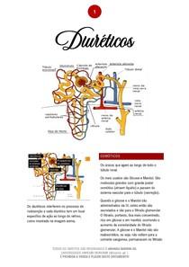 Diuréticos - 01/2021 - Prof. Filiphe