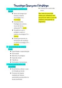 Imunologia Clínica para Odontologia