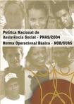 Politica Nacional de Assistencia Social 2013 PNAS 2004 e 2013 NOBSUAS