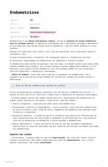 Endometriose por RCalvano