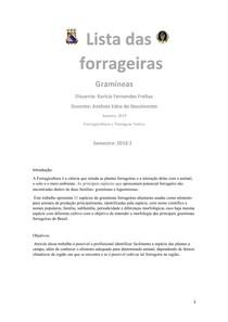 Gramineas forrageiras