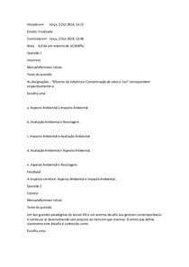 Exercicio 1 e 2 AV1   gestão ambiental