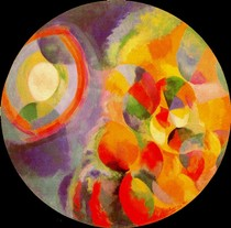 Simultaneous Contrasts Sun and Moon-Robert Delaunay