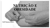 Aula 4   Nutrição e obesidade