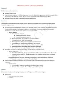Parasitologia Humana - Conceitos Fundamentais