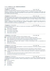 AV  2014 2 NEGÓCIOS ELETRÔNICOS