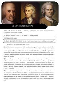 Os Contratualistas