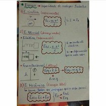 Energia cinética-mecânica-gravitacional-potencial