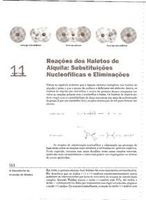Capítulo 11 - Reações dos Haletos de Alquila - Substituições Nucleofílicas e Eliminações